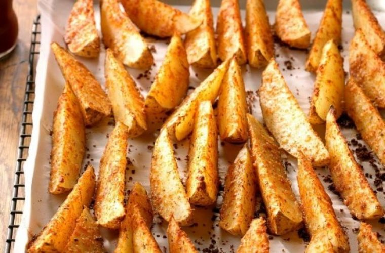 Σαν τηγανητές: Οι πιο νόστιμες και υγιεινές πατάτες φούρνου!