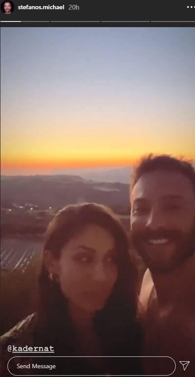 Ο Στέφανος Μιχαήλ ποζάρει για πρώτη φορά με την πανέμορφη σύντροφό του! (εικόνα)