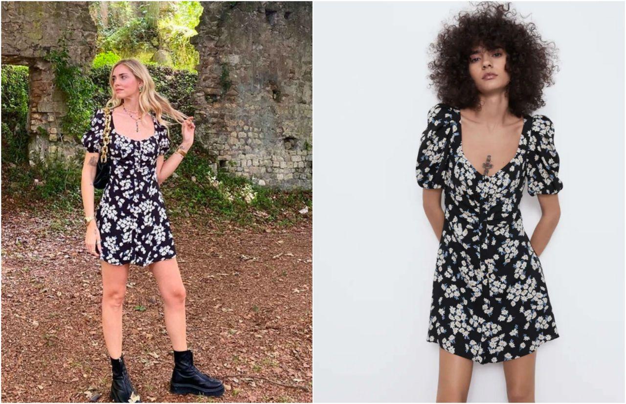 Αυτό το φλοράλ φόρεμα θα το φοράς όλο το καλοκαίρι! Είναι zara και κοστίζει 10 ευρώ! (εικόνα)