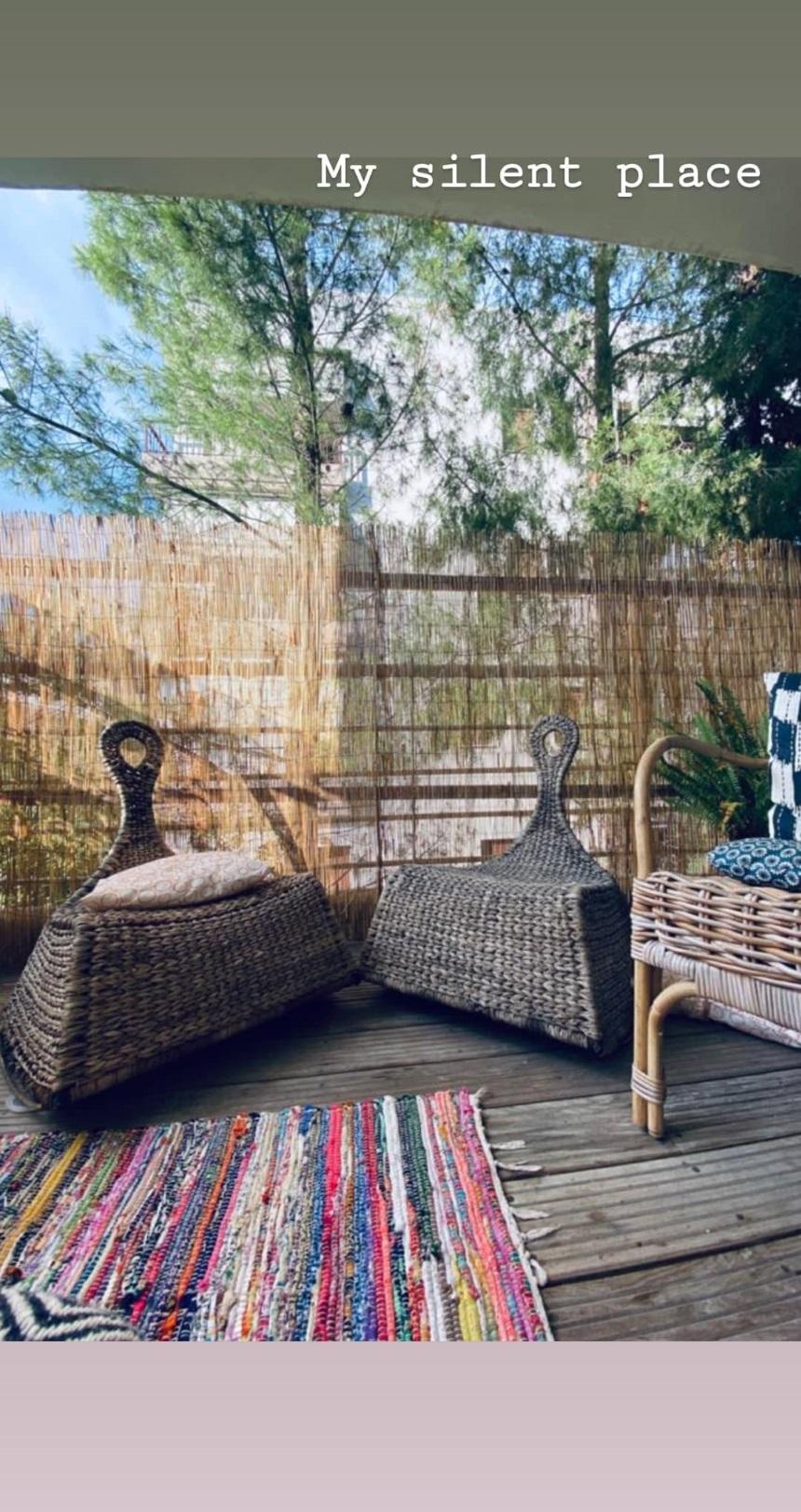 Κατερίνα Παπουτσάκη: Φωτογραφίζει τη γωνία που λατρεύει στο σπίτι της- Είναι υπέροχη!