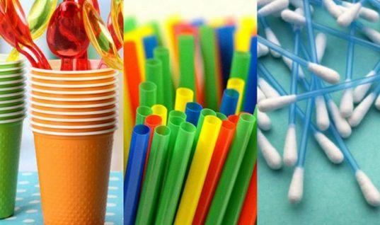 Τέλος στα πλαστικά μιας χρήσης: Δείτε ποια προϊόντα αποσύρονται οριστικά