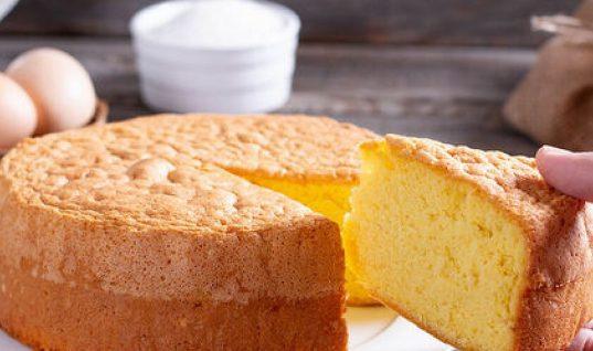 Κέικ με ζεστό γάλα! Το πιο εύκολο και αφράτο