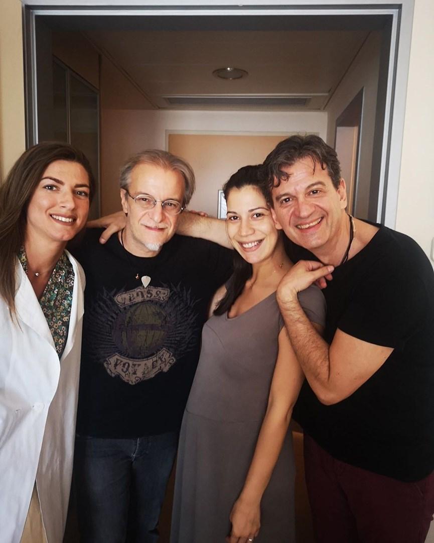 Μίλτος Πασχαλίδης: Έγινε πατέρας για πρώτη φορά- Οι τρυφερές φωτογραφίες με την σύντροφό του και το μωρό!