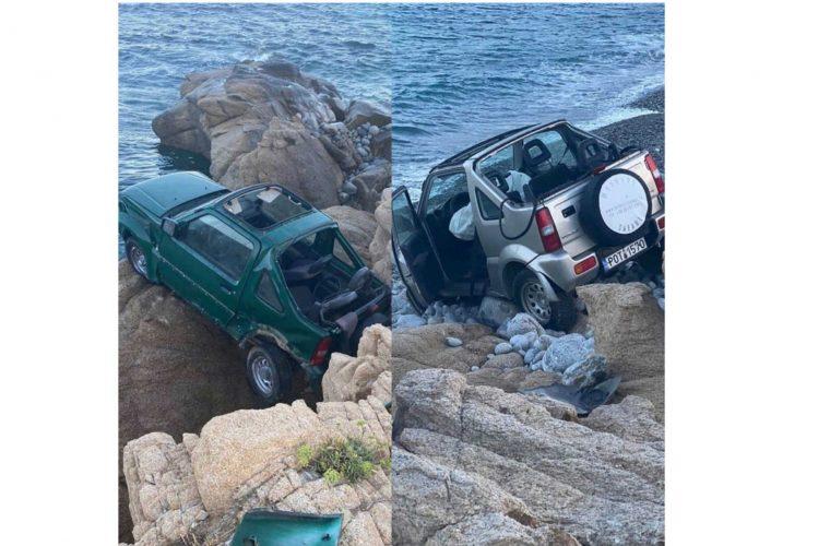 Σοκαριστικό τροχαίο στη Μύκονο: Αυτοκίνητα έπεσαν στο γκρεμό- Νεκρή 18χρονη