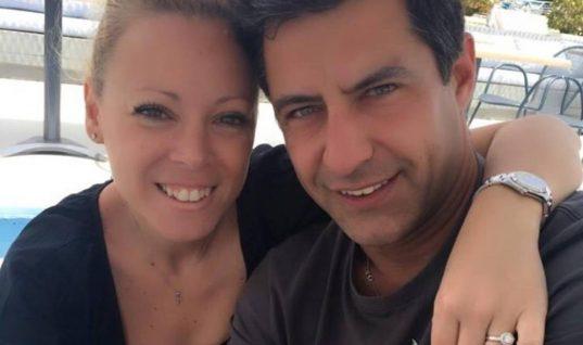 Κωνσταντίνος Αγγελίδης: Η νέα φωτογραφία με τη σύζυγό του και το χαμόγελο αισιοδοξίας