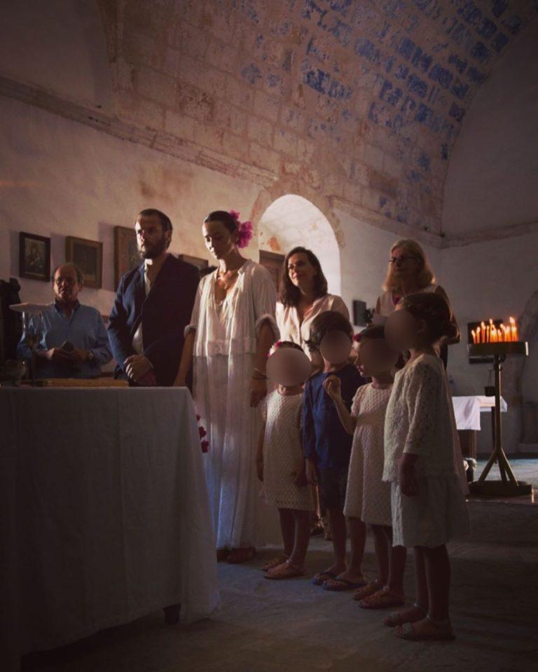 Ζενεβιέβ Μαζαρί: Θυμάται τον γάμο της και μας δείχνει φωτογραφίες της ως νύφη! (εικόνες)