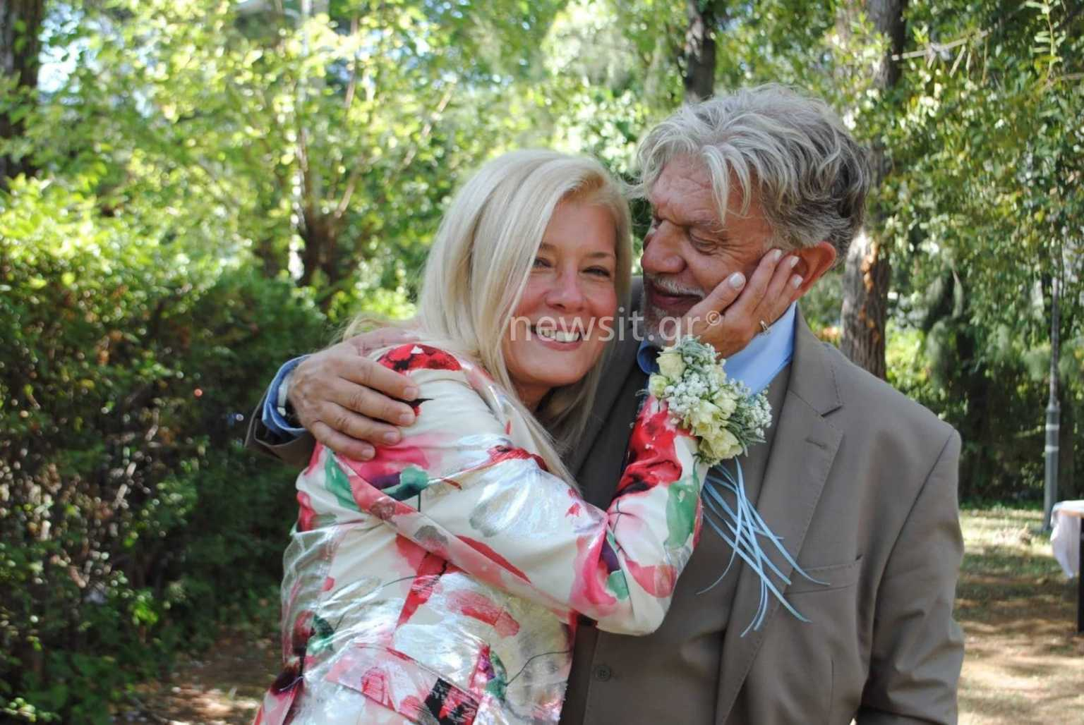 Ο Γιάννης Βούρος ξαναπαντρεύτηκε την πρώην σύζυγό του! (εικόνες)