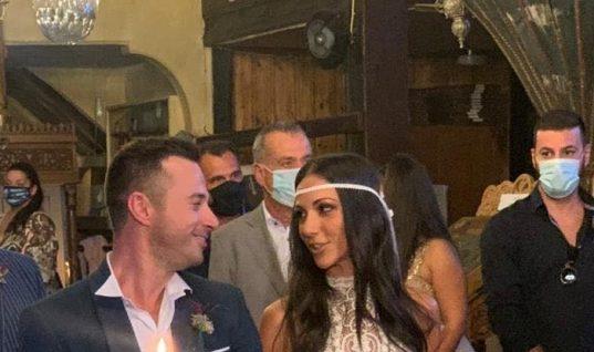 Χάλασε η κουμπαριά την τελευταία στιγμή: Η Ανθή Βούλγαρη παντρεύτηκε αλλά δεν ήταν κουμπάρα η Κατερίνα Καινούργιου! (εικόνες)