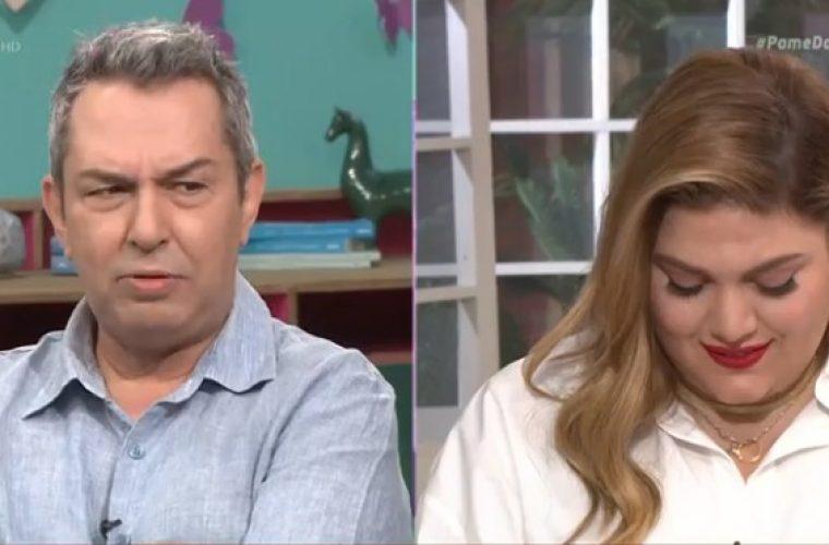 Ο Χρήστος Χατζηπαναγιώτης εξομολογείται πως ένιωσε όταν η Δανάη Μπάρκα του ζήτησε να τον λέει «μπαμπά»