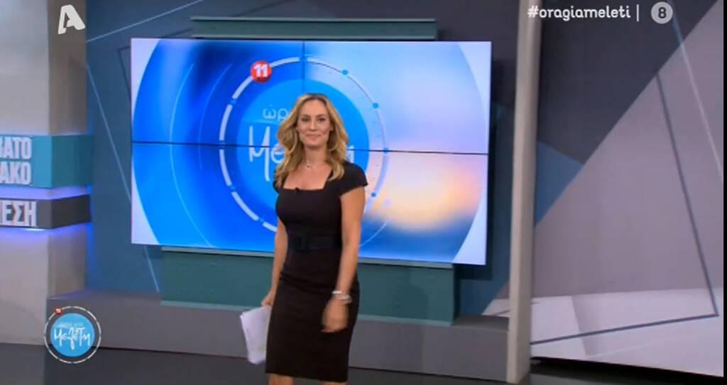 Η Ελεονώρα Μελέτη με μαύρο φόρεμα που θα θες στην ντουλάπα σου! (εικόνες)
