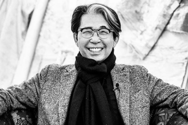 Πέθανε από τον κορωνοϊό ο διάσημος σχεδιαστής Kenzo