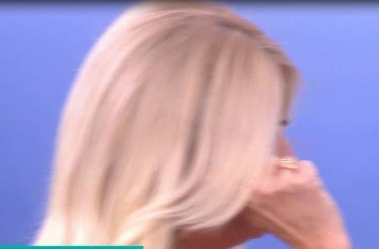 Ξέσπασε σε κλάματα η Φαίη Σκορδά στο «Πρωινό»!