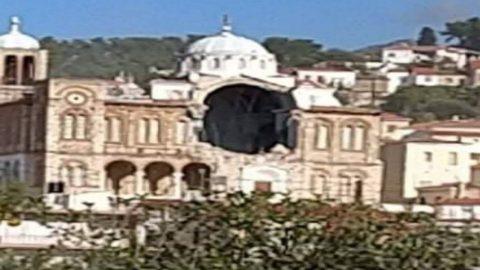 Ταρακούνησε όλη την Ελλάδα ο σεισμός 6,7 Ρίχτερ στη Σάμο: Κατέρρευσε τμήμα εκκλησίας στο Καρλόβασι- Η θάλασσα βγήκε στη στεριά