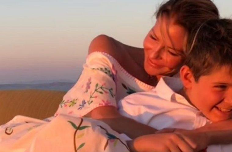 Γενέθλια για την Τζένη Μπαλατσινού- Το υπέροχο δώρο του γιου της Μάξιμου! (εικόνα)