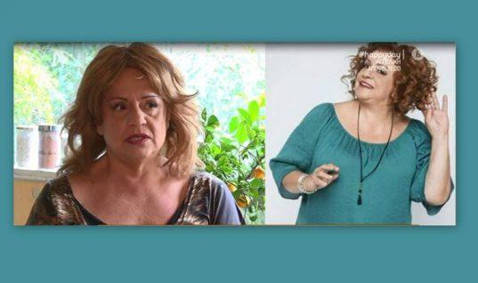 Ελένη Κοκκίδου: Η «Βουλίτσα» αποκάλυψε πως έχασε 35 κιλά!