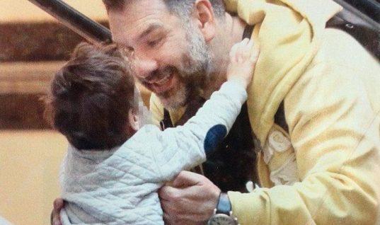 Γρηγόρης Αρναούτογλου: Ο γιος του έγινε εφτά χρονών! (εικόνα)