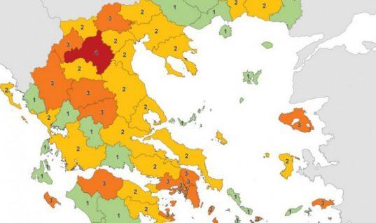 Εξαπλώθηκε σε όλη την Ελλάδα ο κορωνοϊός- Εννιά περιοχές με τριψήφιο αριθμό κρουσμάτων- Αναλυτική λίστα