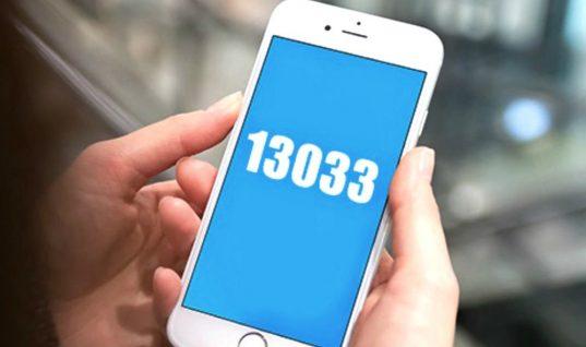 Νέος κωδικός «7» για sms στο 13033: Για ποιες μετακινήσεις θα χρησιμοποιείτε