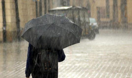 ΕΜΥ: Έκτακτο δελτίο καιρού με βροχές, καταιγίδες και χαλάζι- Ποιος περιοχές θα επηρεαστούν