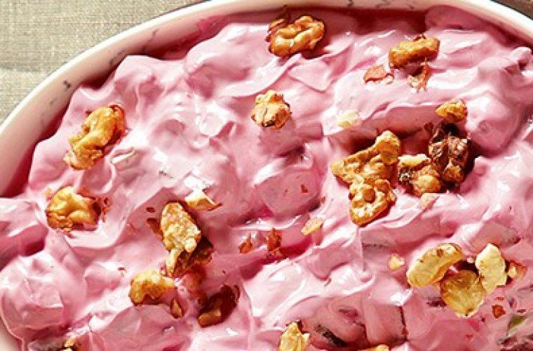 Σαλάτα με παντζάρια και γιαούρτι- Θα σε χορτάσει με λίγες θερμίδες!