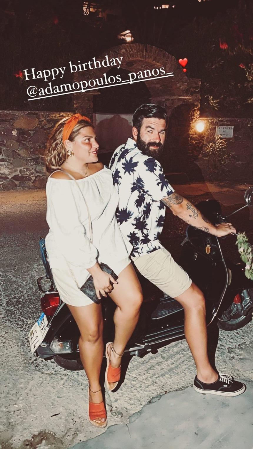 Δανάη Μπάρκα: Εύχεται στον σύντροφό της με μία κοινή τους φωτογραφία! (εικόνα)