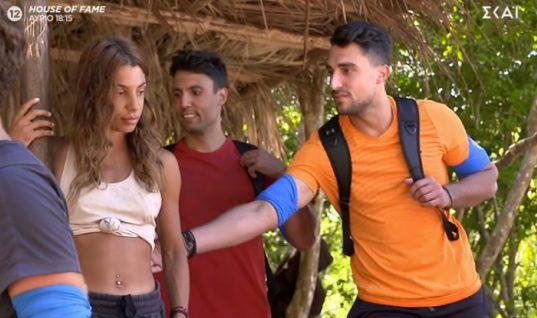 Σε σοκ η Μαριαλένα στο «Survivor» με την είσοδο του πρώην της με την κοπέλα του: «Τι καραγκιόζης»!