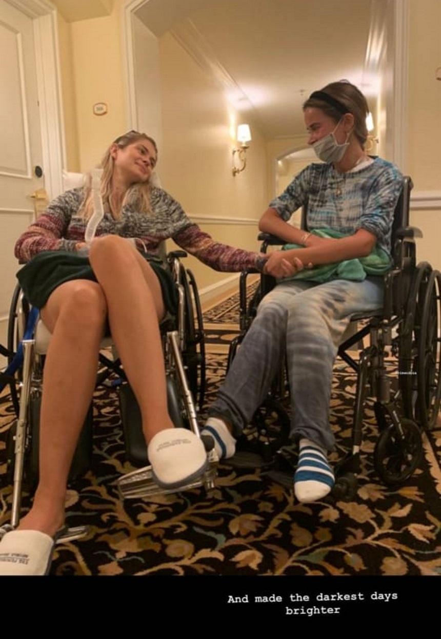 Αμαλία Κωστοπούλου: Η φωτογραφία της σε αναπηρικό καροτσάκι μετά το τροχαίο και το μήνυμα ελπίδας! (εικόνα)