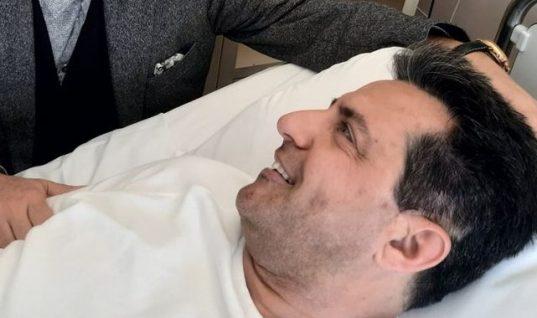 Τα χαμόγελα και η φωτογραφία του Κωνσταντίνου Αγγελίδη λίγο πριν το κρίσιμο χειρουργείο- Τα νεότερα μετά την επέμβαση