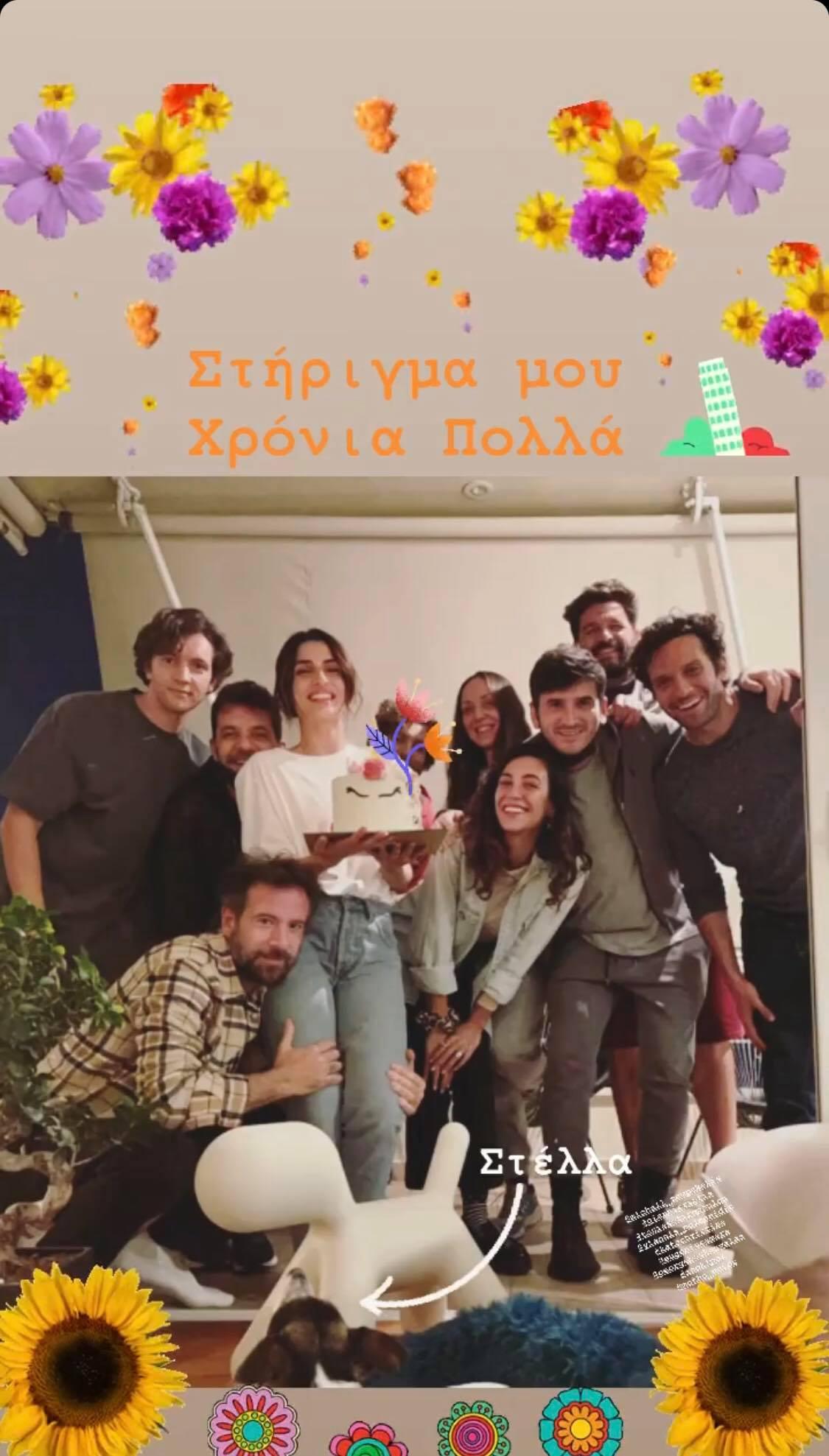 Η Τόνια Σωτηροπούλου έχει γενέθλια και ο Κωστής Μαραβέγιας της εύχεται με μία φράση που τα λέει όλα! (εικόνα)