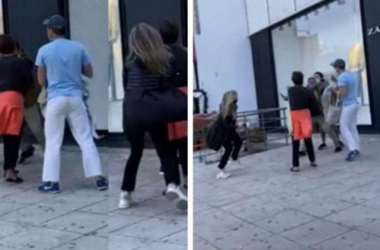 «Φύγε από εδώ μωρή, παλιοτσόλι»: Απίστευτος καβγάς μεταξύ γυναικών έξω από πολυκατάστημα στη Γλυφάδα! (vid)