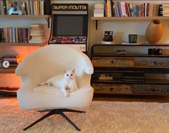 Το σαλόνι του Νίκου Μουτσινά είναι τόσο χαρούμενο όσο και ο ίδιος! (εικόνες)