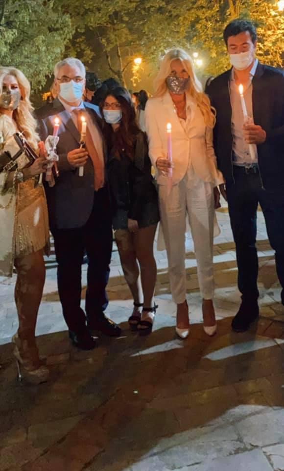 Μαρίνα Πατούλη: Πάσχα χωρίς τον σύζυγό της αλλά με εκλεκτή παρέα! (εικόνα)