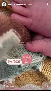 Γέννησε η Αθηνά Οικονομάκου- Η πρώτη φωτογραφία