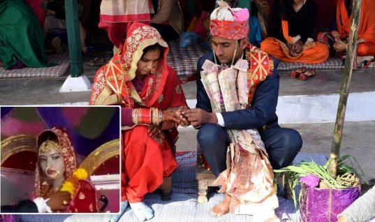 Νύφη στην Ινδία πέθανε από καρδιά λίγο πριν την τελετή του γάμου και ο γαμπρός παντρεύτηκε την αδελφή της στο ίδιο μυστήριο!