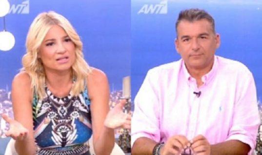 Η Φαίη Σκορδά απαντά για πρώτη φορά on air αν είναι ξανά ζευγάρι με τον Λιάγκα
