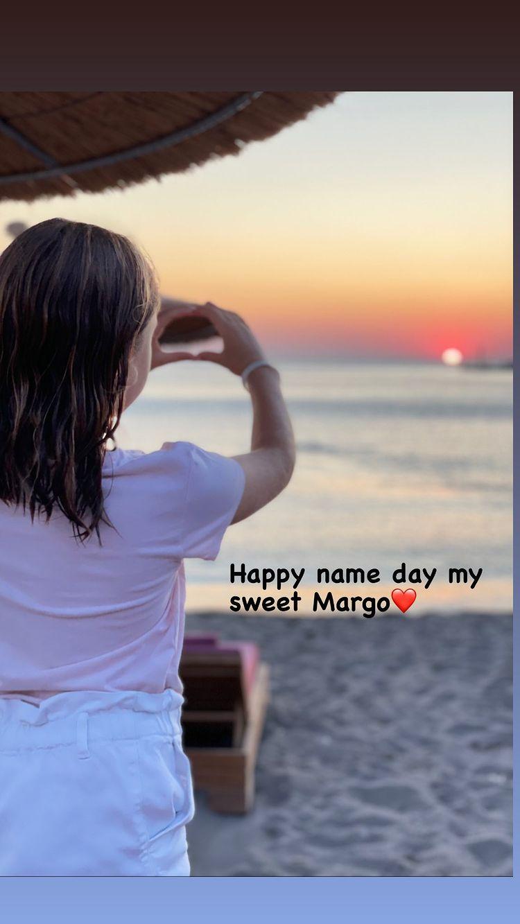 Η Μαριέττα Χρουσαλά φωτογραφίζει την 9χρονη κόρη της και της εύχεται για τη γιορτής της (εικόνα)