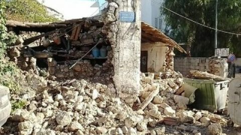 Ηράκλειο Κρήτης: Ισχυρός σεισμός 5,8 ρίχτερ- Μεγάλες ζημιές και πληροφορίες για εγκλωβισμένους