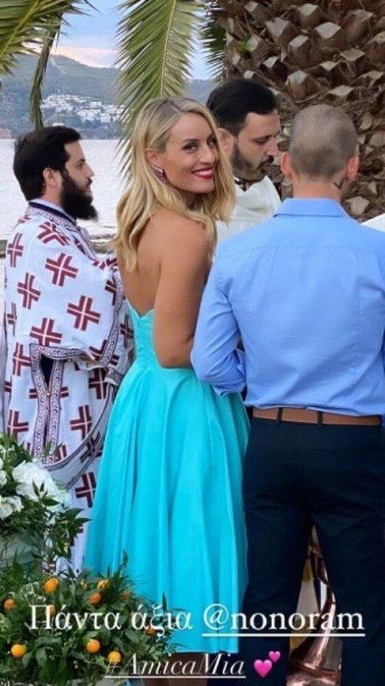 Η Ελεονώρα Μελέτη έγινε νονά- Το υπέροχο φόρεμά της! (εικόνες)