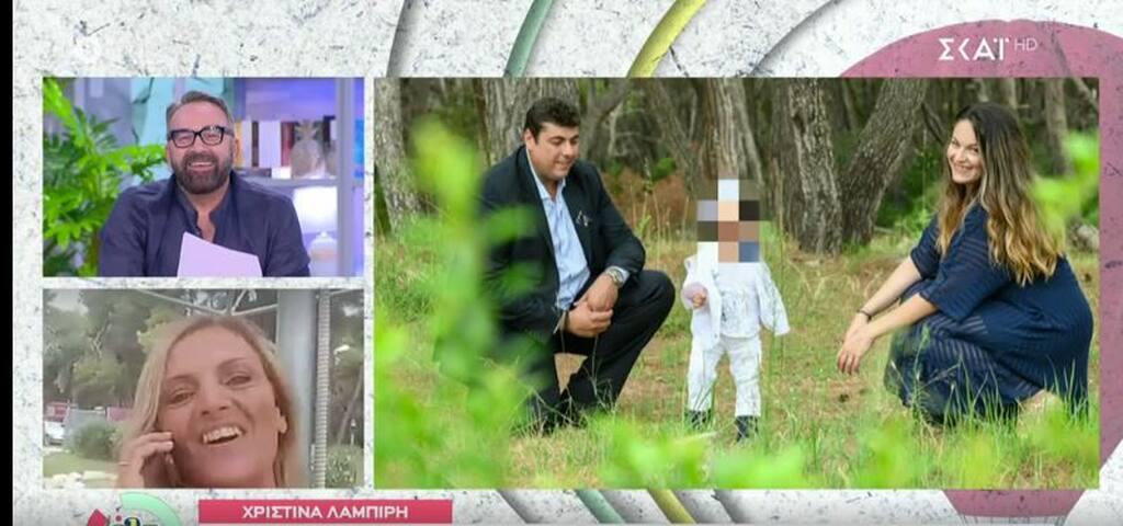 H Χριστίνα Λαμπίρη βάφτισε τον εγγονό της: Φωτογραφίες του μικρού με την χαζογιαγιά του!