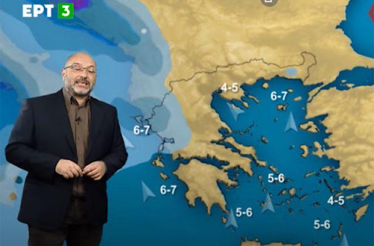 Σάκης Αρναούτογλου: Ραγδαία επιδείνωση του καιρού με έντονα φαινόμενα μεγάλης διάρκειας και πτώση της θερμοκρασίας